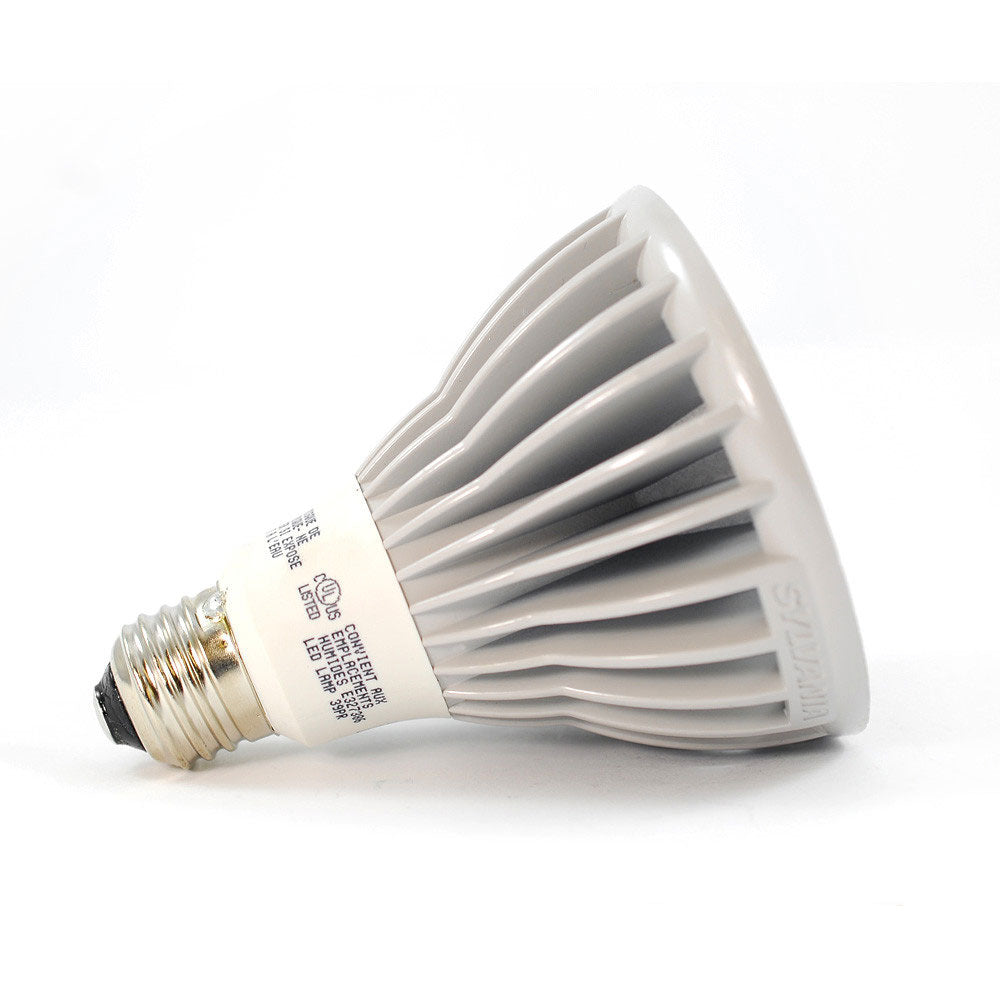 OSRAM SYLVANIA 13W PAR30L Long Neck Dimmable LED Flood 40 degree 2700K light bulb