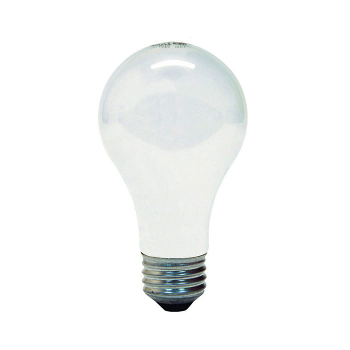 GE 53W A19 Halogen Frost Energy-Efficient - replace 75w Incand -2 bulbs
