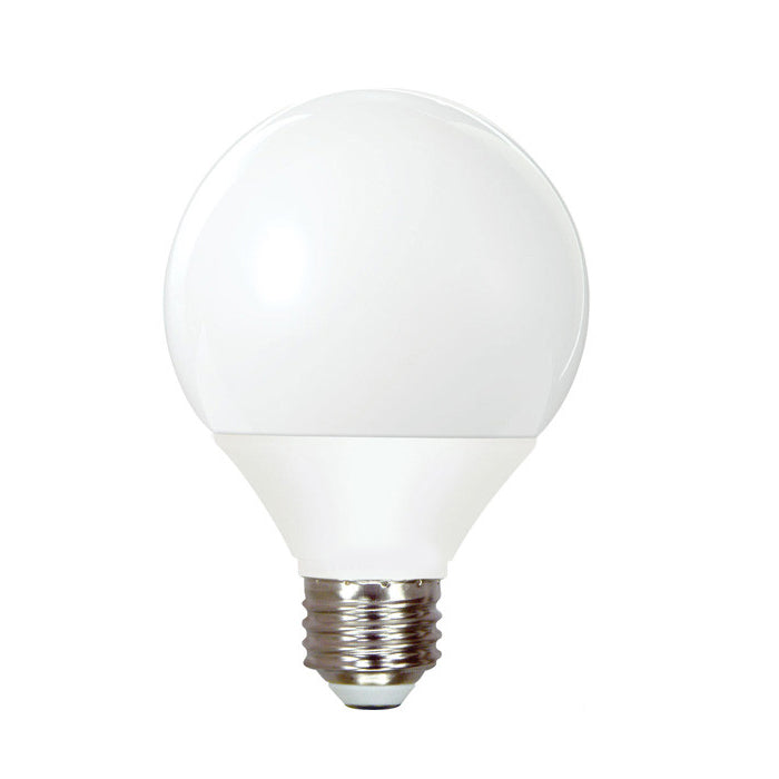 Ge 11w globe cfl daylight compact fluorescent light bulb bulbamerica Fluorescent light bulb