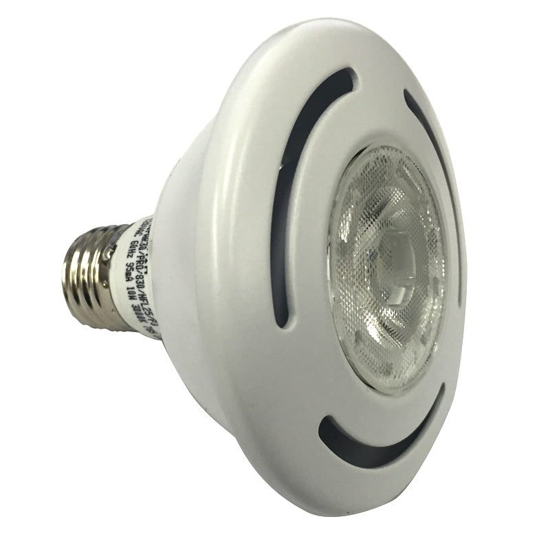 SYLVANIA Ultra LED 10W PAR30 Dimmable Narrow Flood 3000K bulb