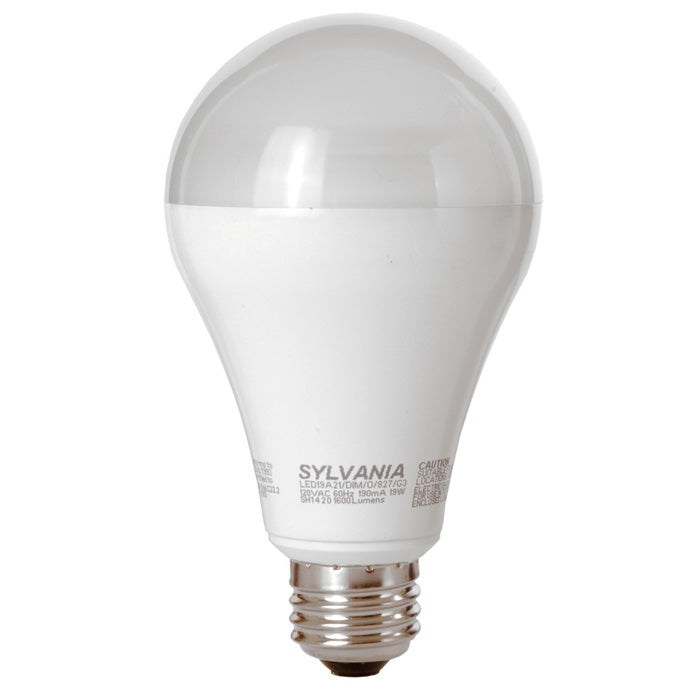 A-Shape Dimmable LED 19w A21 Soft White Sylvania Ultra LED Bulb - 100w equiv.