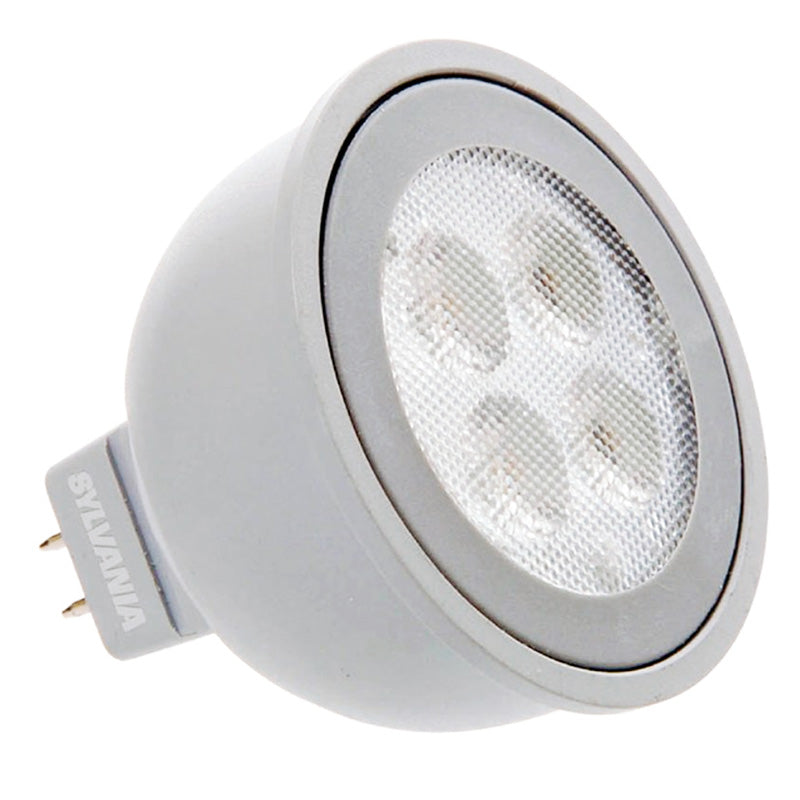 SYLVANIA 6W MR16 LED Flood 3000K Soft White light bulb
