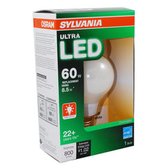 Sylvania 8.5W A19 LED 2700k Soft White Dimmable E26 Light Bulb - 60w equiv.