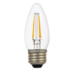 SYLVANIA 4.5w B10 Blunt Tip Dimmable LED - Medium base 2700K