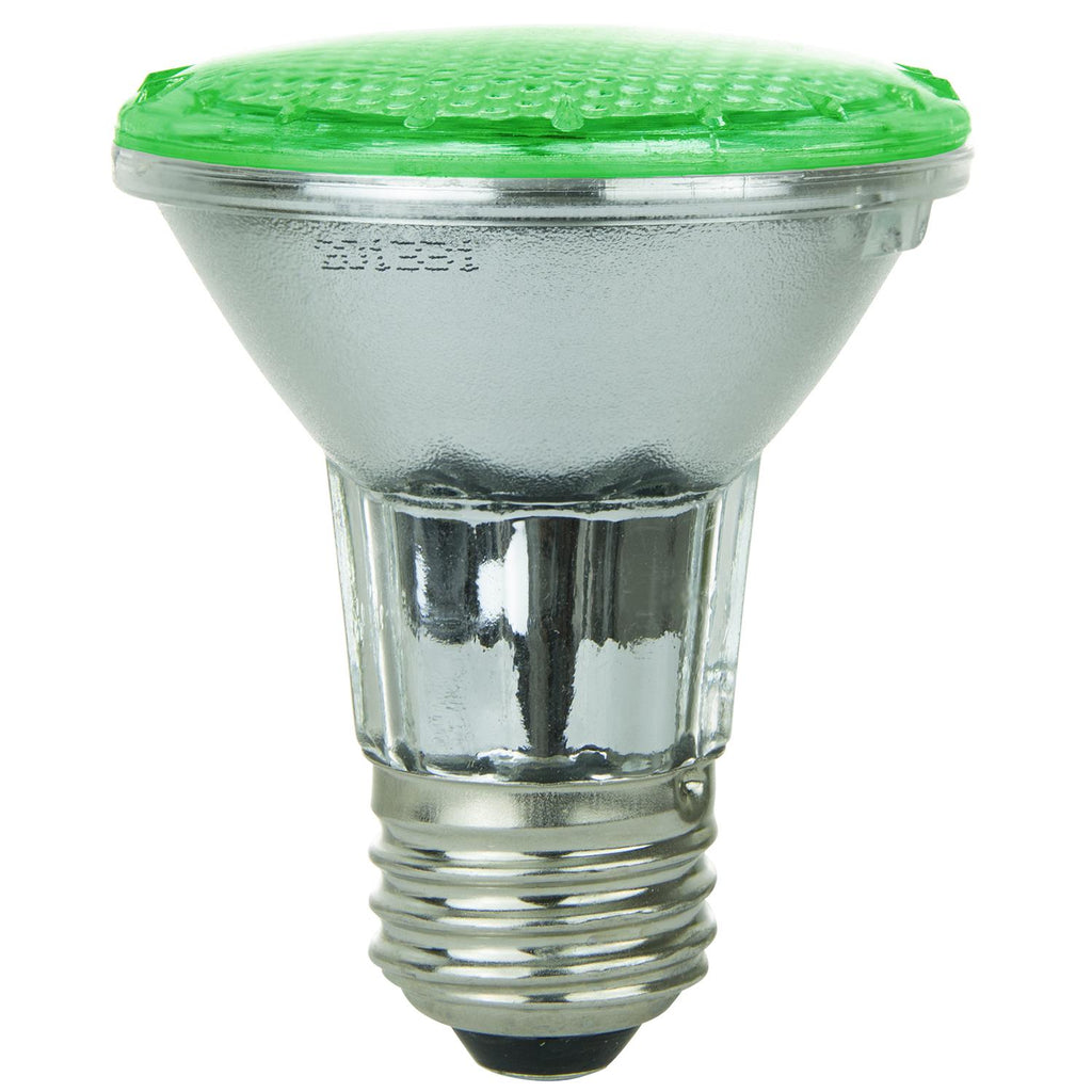 SUNLITE 80002-SU LED PAR20 Colored Reflector 3w Light Bulb Green