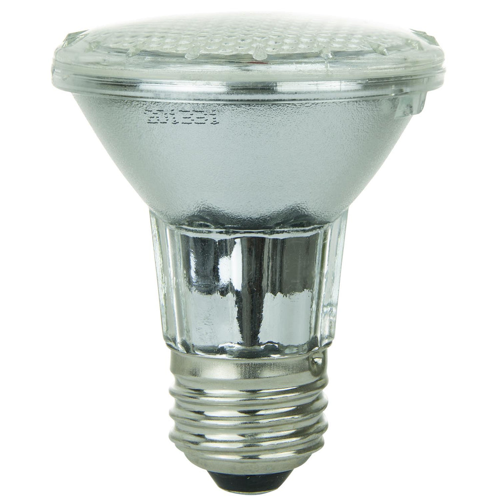 SUNLITE RED PAR20 LED 2w Bulb Medium (E26) Light Bulb - 80003-SU