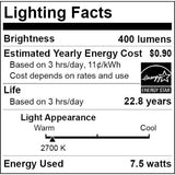 Sunlite PAR20 LED 7.5w 400 Lumens Warm White Dimmable LED Bulb - BulbAmerica