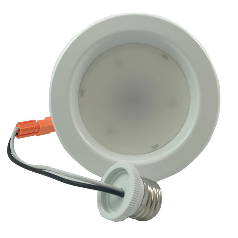 High Quality 4 inch Recessed LED 9W 750Lumens Daylight Downlight Kit - 65w equiv.