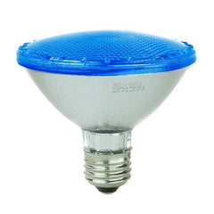 SUNLITE 4w PAR30 LED Blue Color Non-Dimmable E26 Medium Base Light Bulb