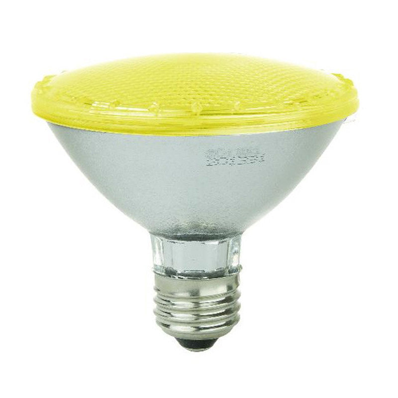 SUNLITE 5w PAR30 92LED Medium Base Yellow Bulb