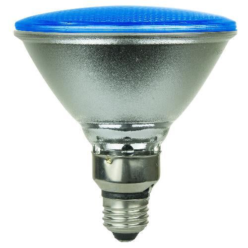 SUNLITE 6w Blue PAR38 LED Medium Base Bulb