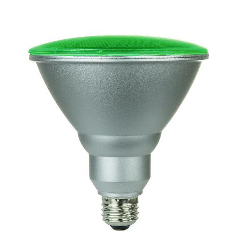 SUNLITE 6w PAR38 120LED, Medium Base Green LED Light Bulb