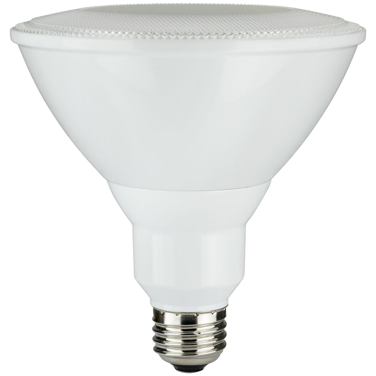 Sunlite 80049-SU LED PAR38 Reflector HE Series 17.5w Light Bulb Cool White