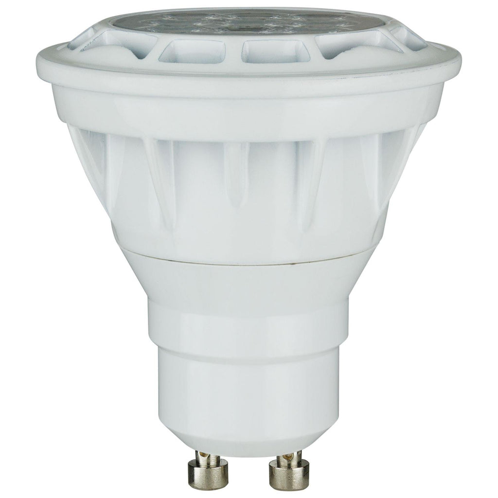 Sunlite 80103-SU LED PAR16 Reflector 6.5w Light Bulb (GU10) Base White
