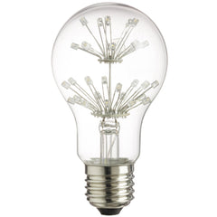 SUNLITE 80127-SU LED A19 Vintage Star 1.8w Light Bulb Warm White 2300K