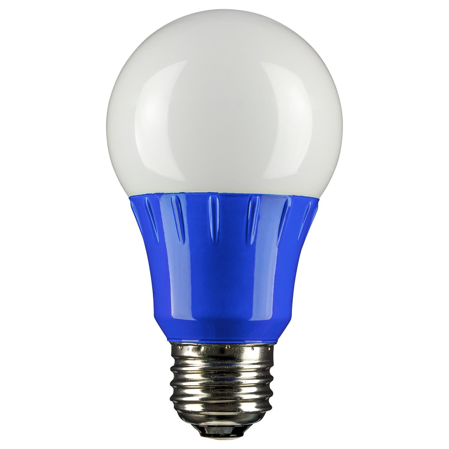 SUNLITE Blue A19 LED 3w Medium (E26) Base Light Bulb - 80145-SU