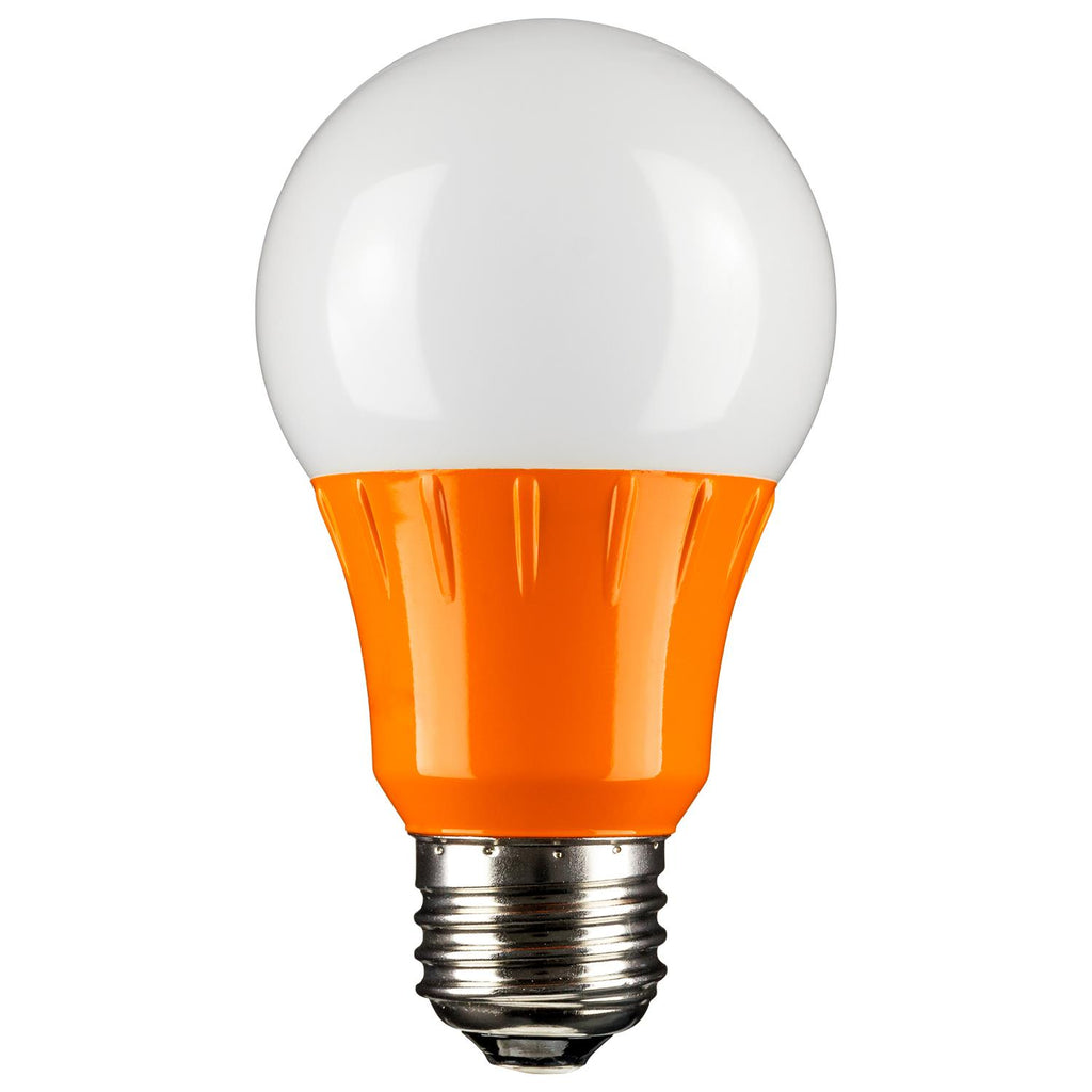 SUNLITE Orange LED A19 3w Medium (E26) Base Light Bulb  - 80147-SU