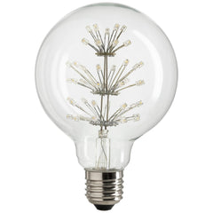 SUNLITE 80153-SU LED Vintage Star 1.8w Light Bulb Medium (E26) Base Warm White