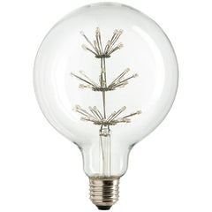 SUNLITE 80154-SU LED Vintage Star 1.8w Light Bulb Medium (E26) Base Warm White