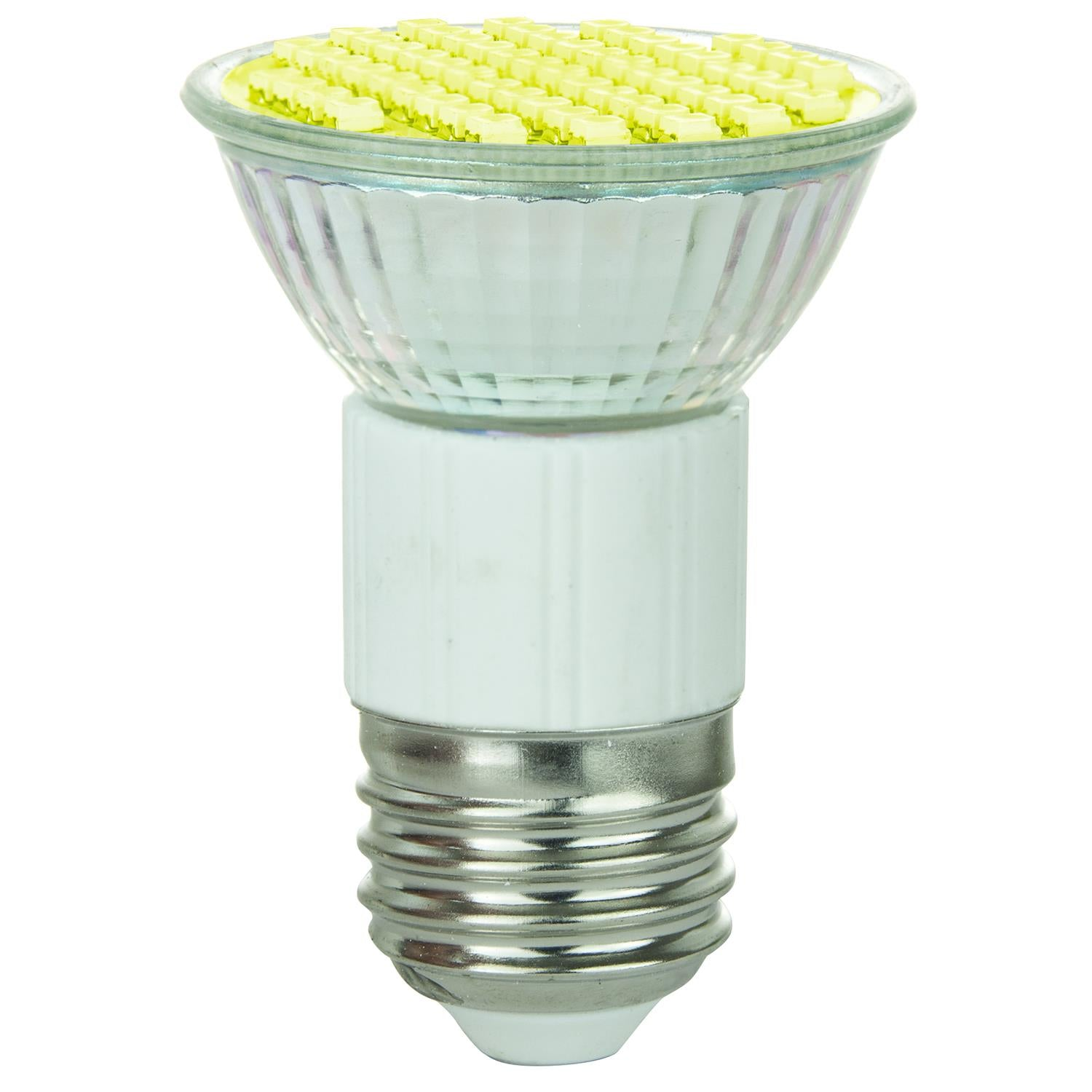 SUNLITE 80198-SU LED JDR MR16 Mini Reflector 2.8w Light Bulb Yellow