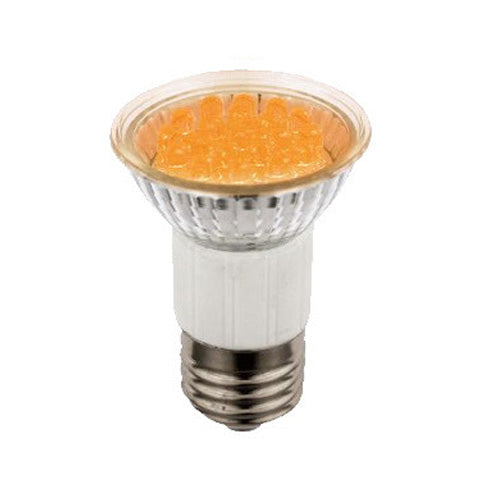 SUNLITE 1w JDR 20 LED Medium Base Amber bulb