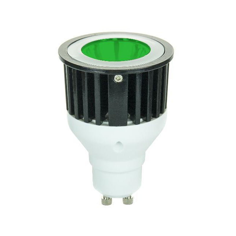 SUNLITE 3w MR16 1LED GU10 Base Green Bulb