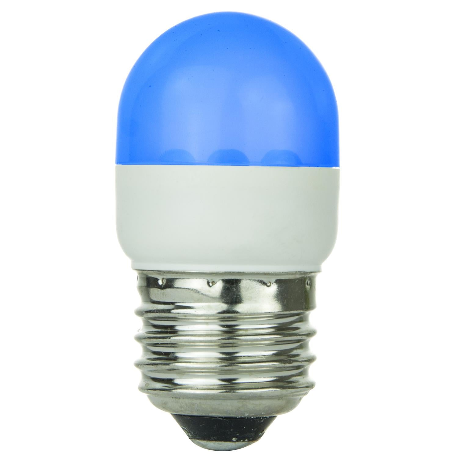 SUNLITE Blue T10 LED 1W 120V E26 Medium Base - Sign & Indicator Bulbs