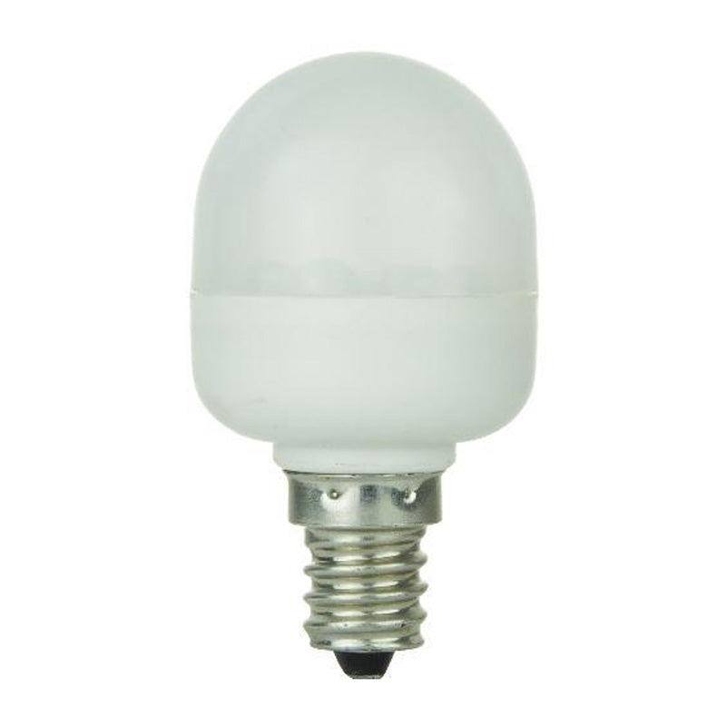 SUNLITE 0.5W LED WHITE E12 Candelabra base Light Bulb