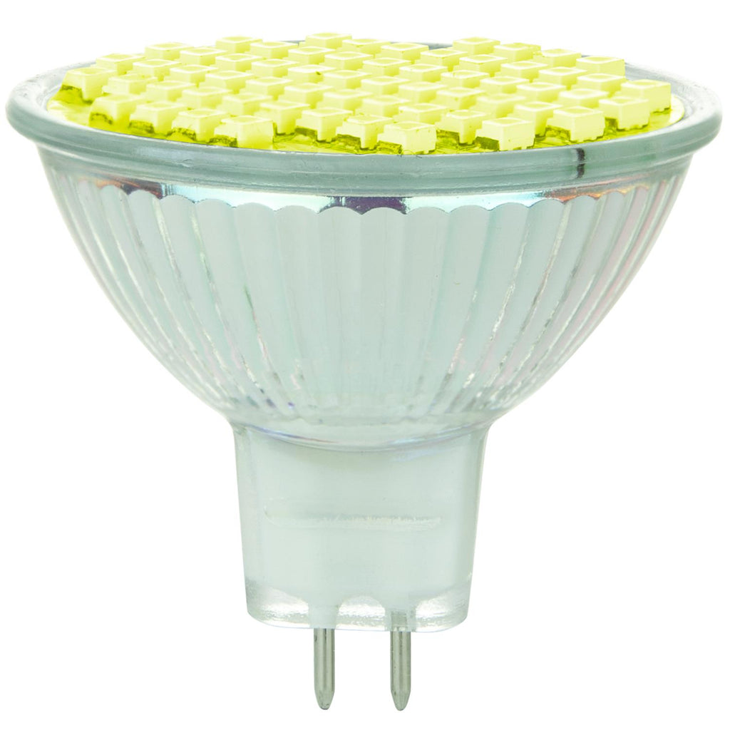 Sunlite 80317-SU LED MR16 Colored Mini Reflector 2w Light Bulb Yellow