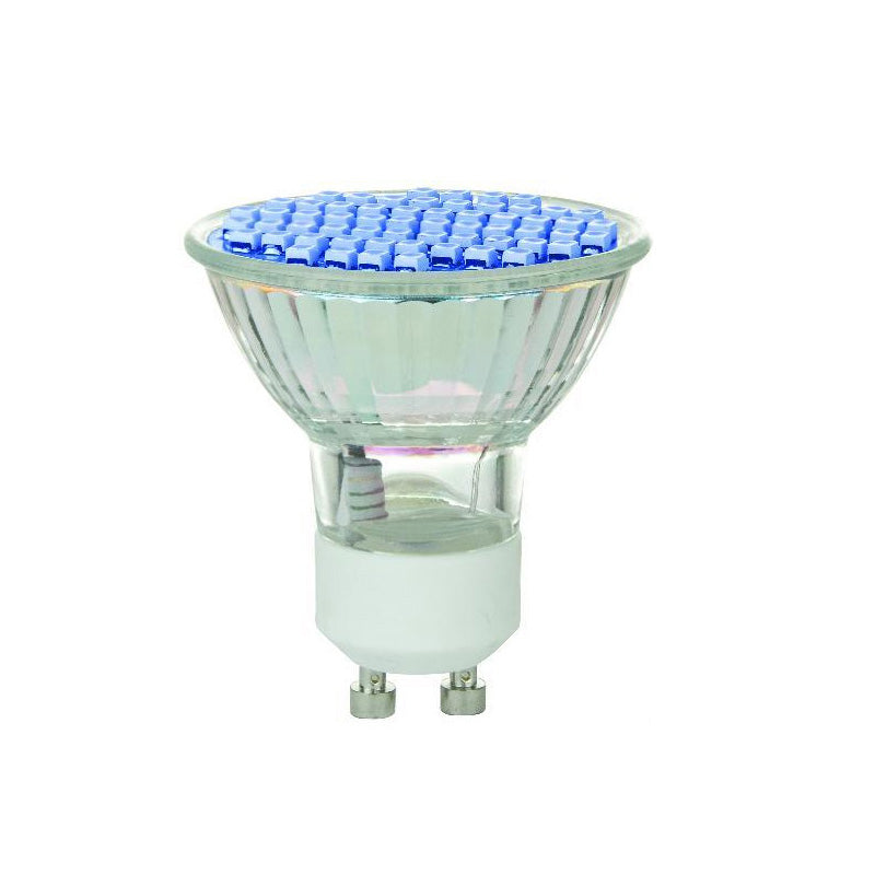 SUNLITE 2.8W 120V MR16 GU10 60LED Blue Light Bulb