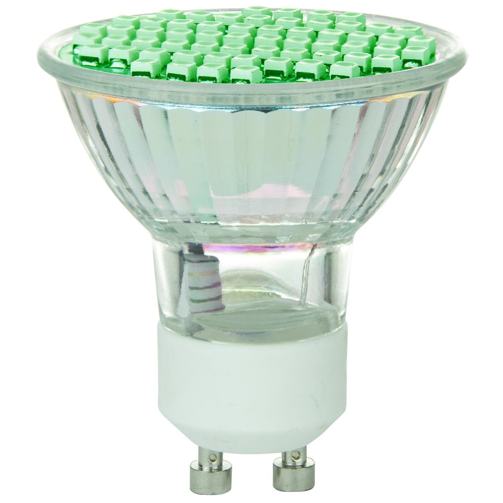 SUNLITE 80327-SU LED MR16 Colored Mini Reflector 2.8w Light Bulb Green