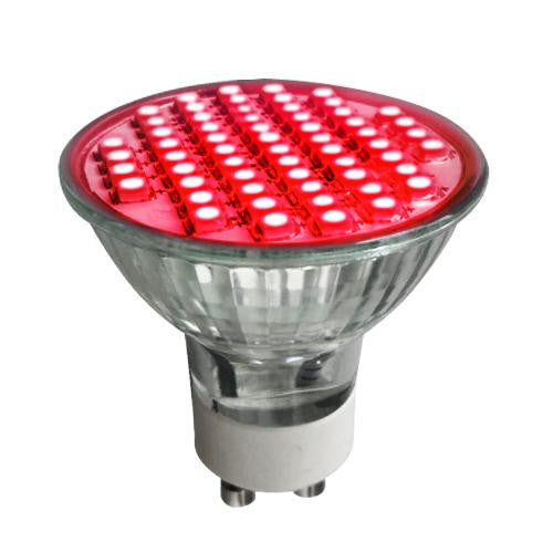 SUNLITE 2.8w 120v MR16 60LED Red GU10 LED Light Bulb