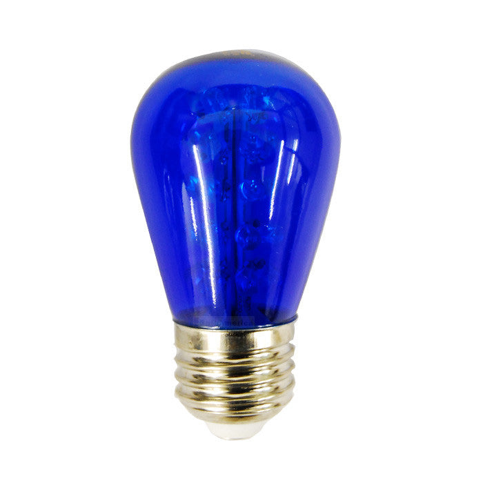 Sunlite 1.7w 120v Sign S14 30LED E26 Blue LED Light Bulb