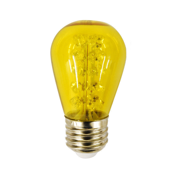 SUNLITE 1.1w 120v Sign S14 30LED E26 Yellow LED Light Bulb