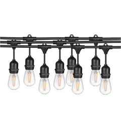 SUNLITE 15W 33ft. LED String Light with 10 sockects