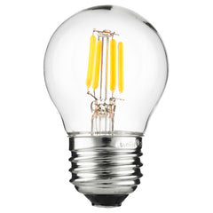 SUNLITE 80454-SU LED Vintage G16 Globe 3w Light Bulb 2200K Warm White