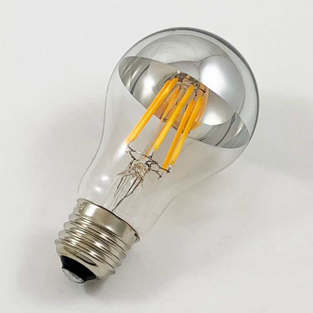 SUNLITE SILVERBOWL LED 6W A19 Medium Base 2200K Filament Bulb
