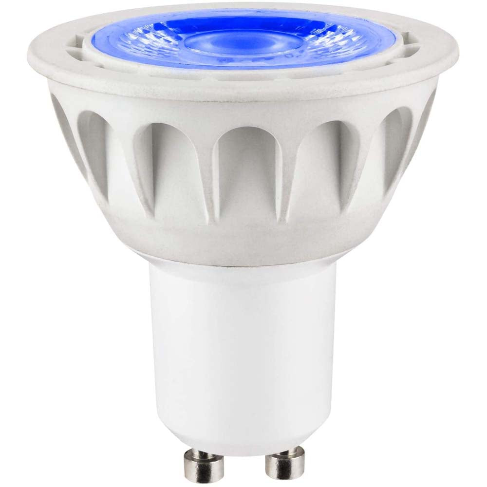 SUNLITE 3W 12V PAR16 GU10 60LED Blue Light Bulb