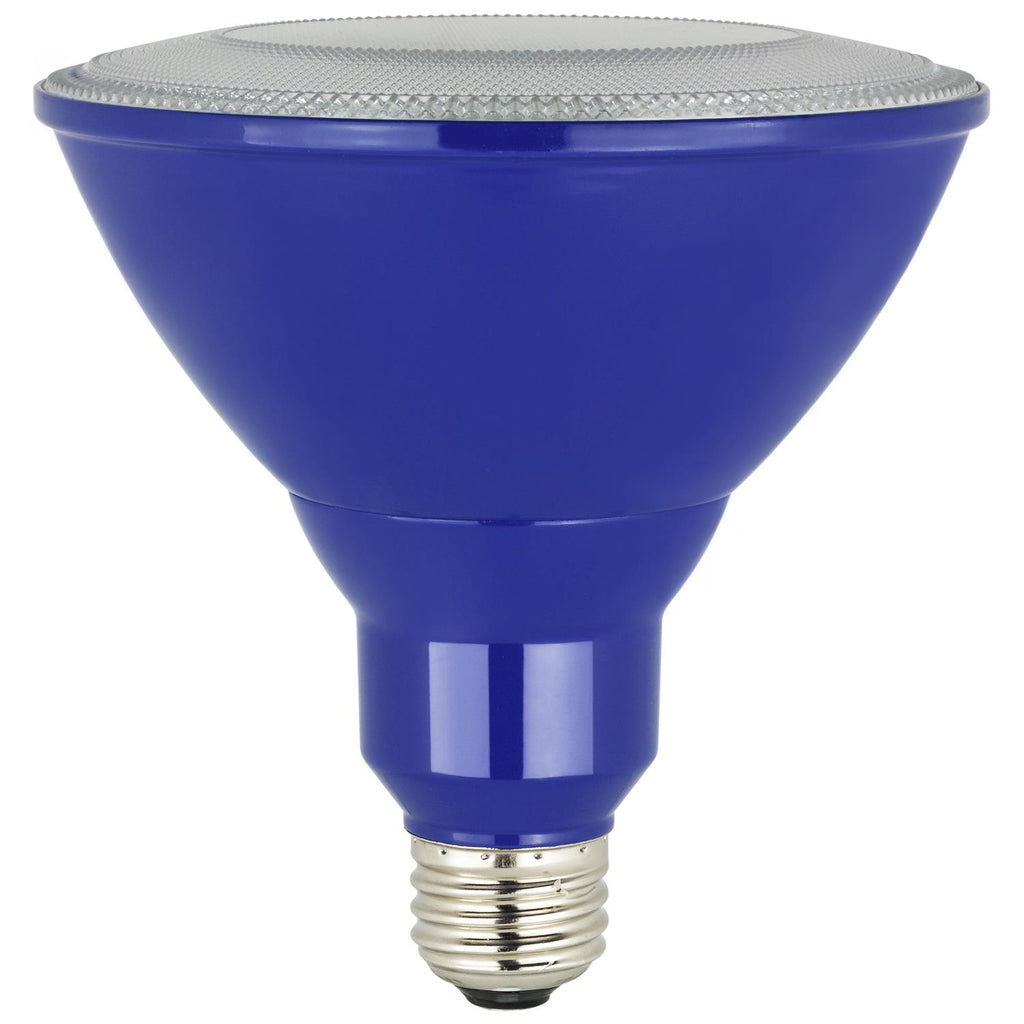 SUNLITE 80550-SU LED PAR38 Colored Reflector 8w Light Bulb Blue