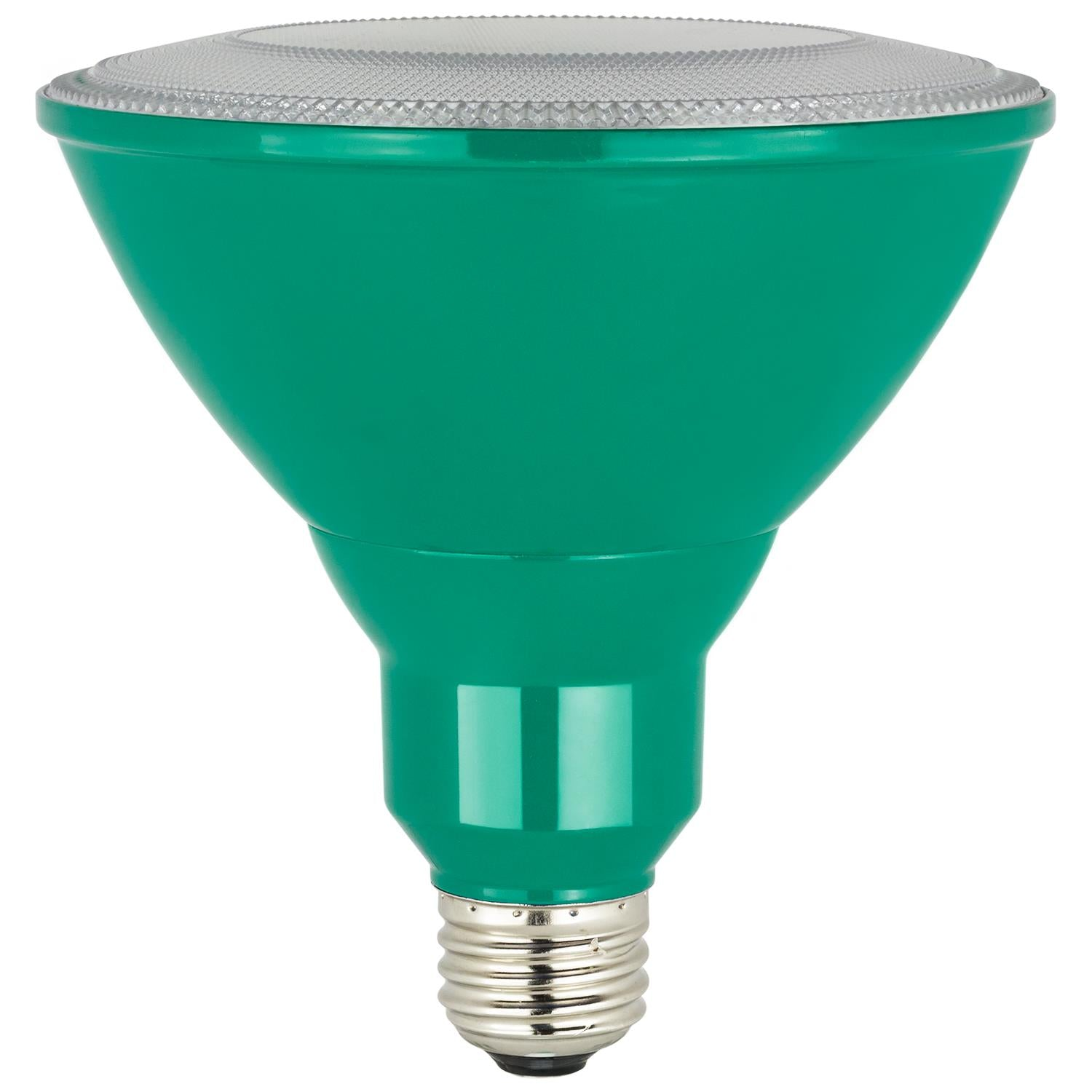 Sunlite 80552-SU LED Green PAR38 Colored Reflector 8w Light Bulb