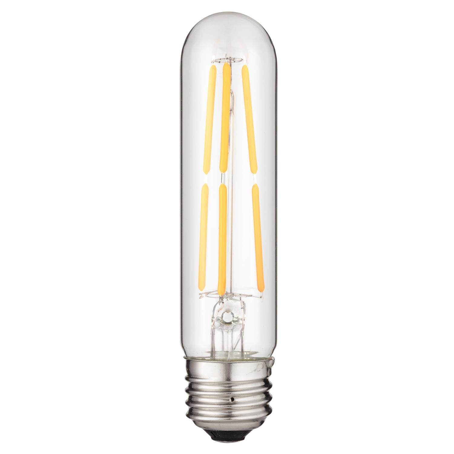 SUNLITE 80612-SU LED Vintage T10 5w Light Bulb Medium (E26) Base Warm Whit