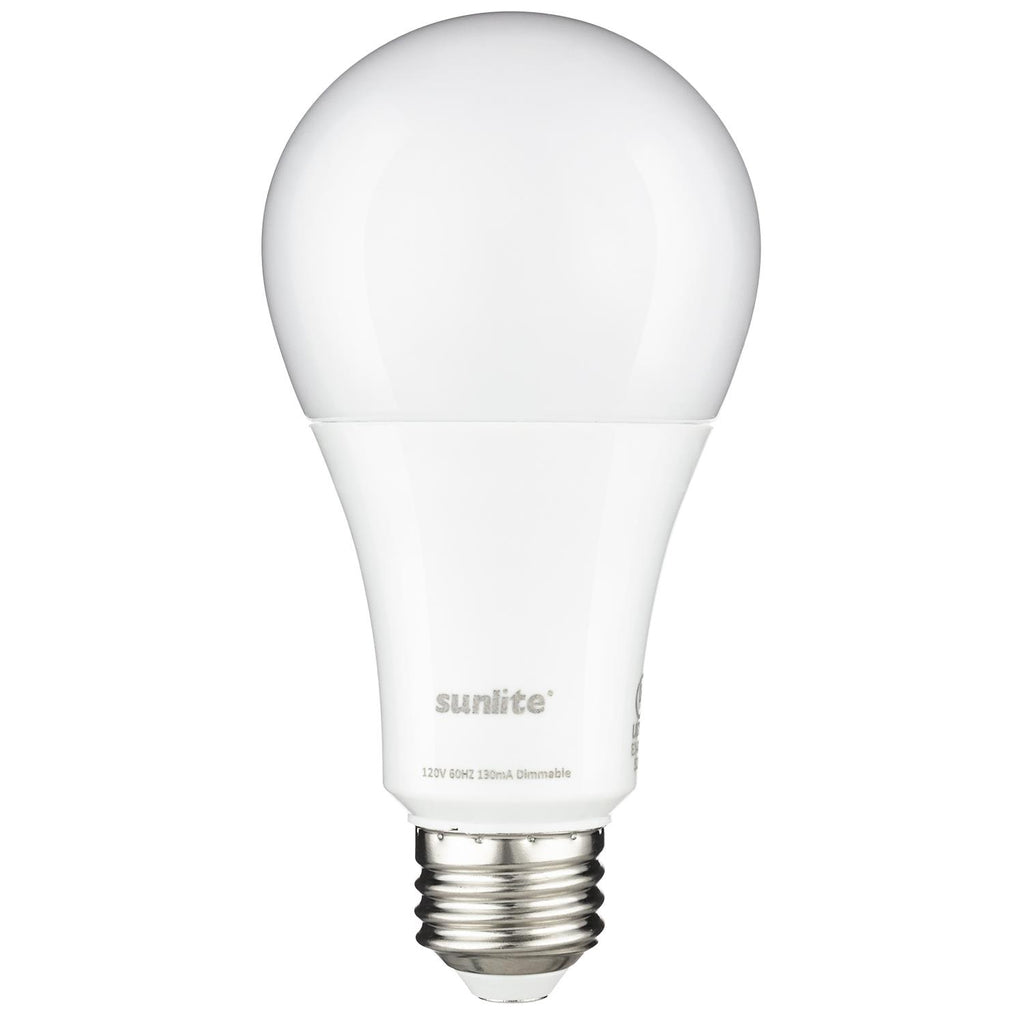 Sunlite 80630-SU LED A Type Household 13w Light Bulb 2700K Warm White