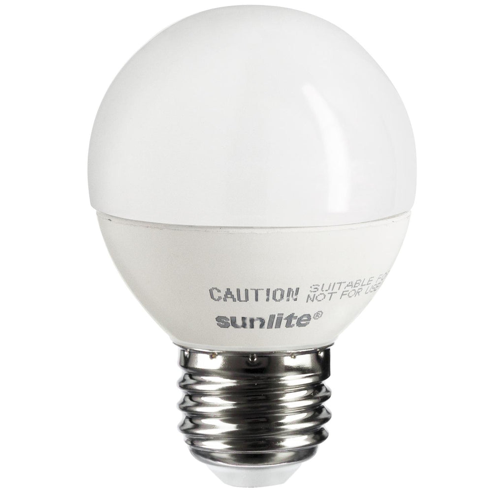 SUNLITE G16 LED 5W 120V E26 Medium Base 2700K Warm White Decorative Bulb