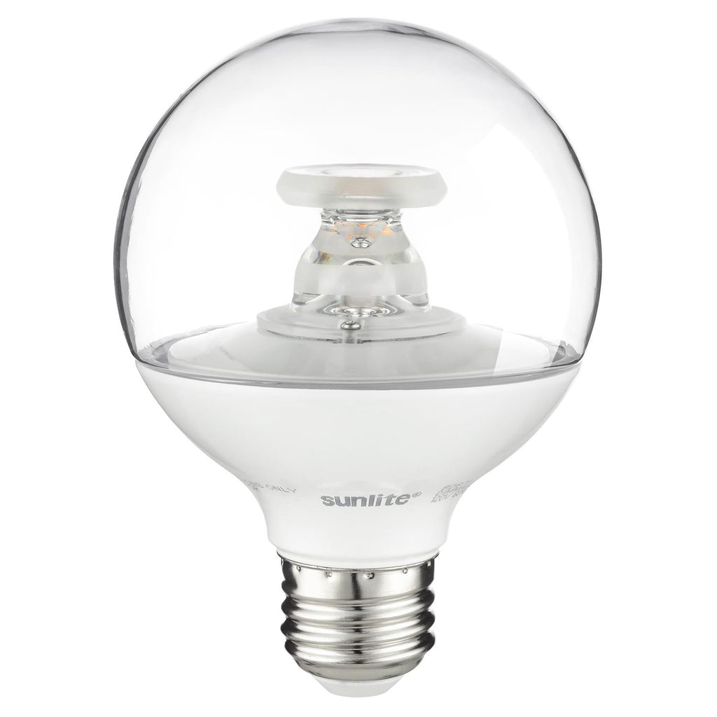 SUNLITE G25 LED 7W 120V E26 Medium Base 2700K Warm White