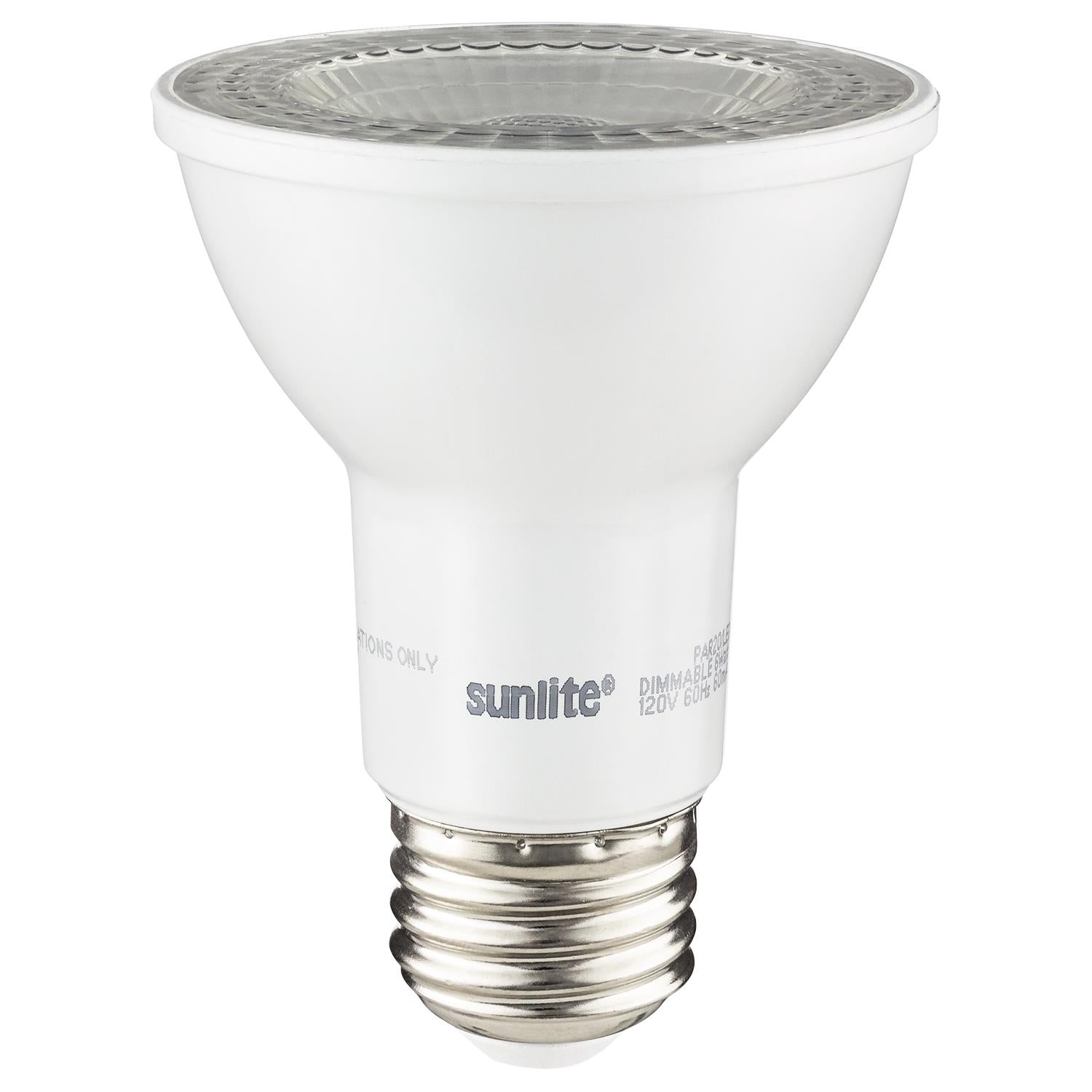 SUNLITE 80696-SU 6 Watt PAR20 Lamp Medium (E26) Base Warm White