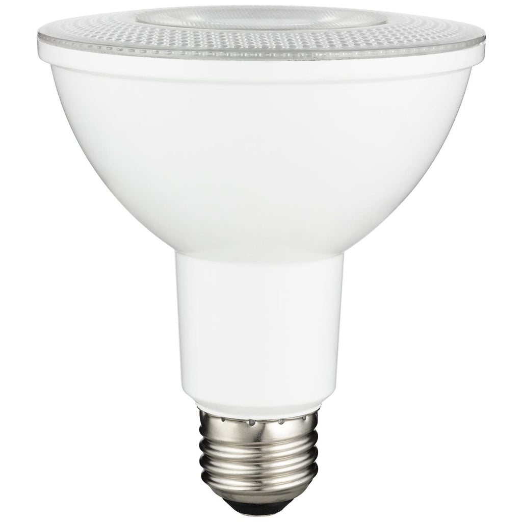 SUNLITE 80883-SU LED 10w Long Neck PAR30LN Light Bulbs Dimmable 5000K Cool White