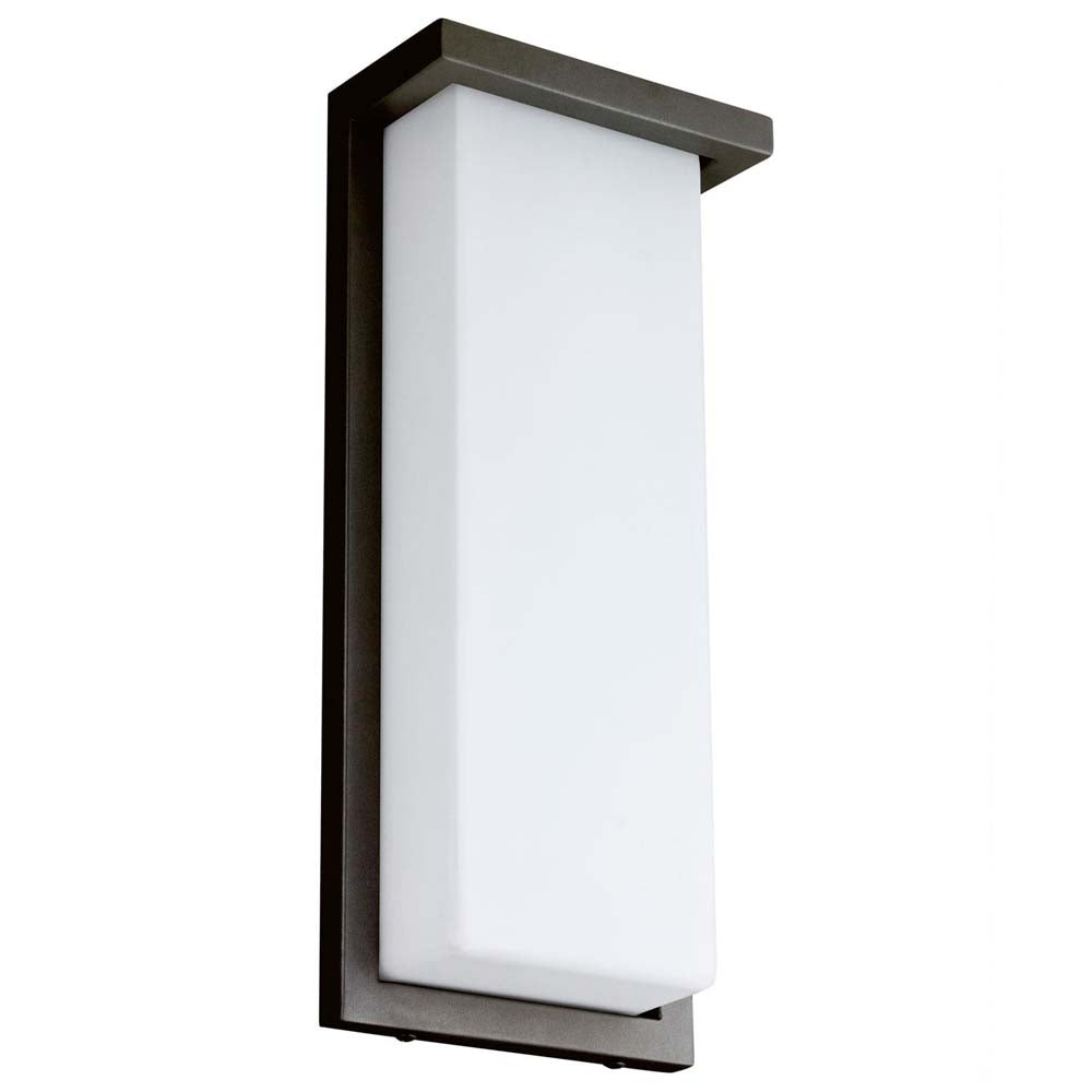 "Sunlite 81077-SU 14"" LED Modern Wall Fixture Oil Rubbed Bronze Cool White 4000k"