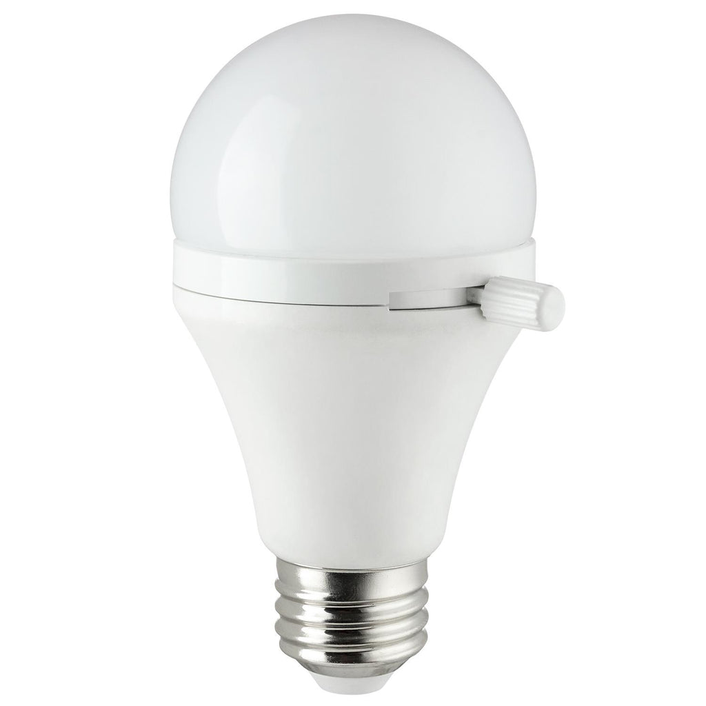 SUNLITE 81140-SU LED A19 Shabbat Permissible 7w (40w Equiv) Light Bulb Warm White