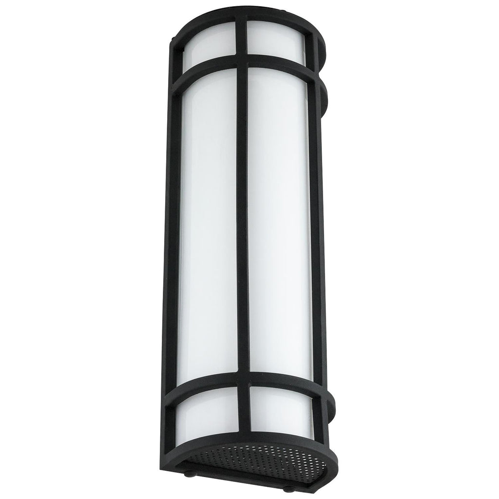 SUNLITE 20W 18in. Integrated LED Outdoor AQ Wall Sconce 3000K Warm White