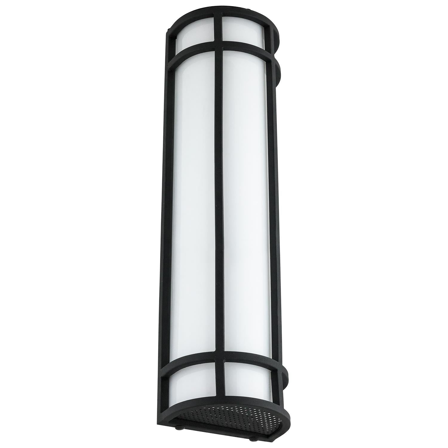 SUNLITE 23W 24in. Integrated LED Outdoor AQ Wall Sconce 3000K Warm White